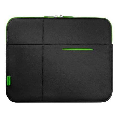 13,3'' AIRGLOW Laptop Sleeve, Black-Green