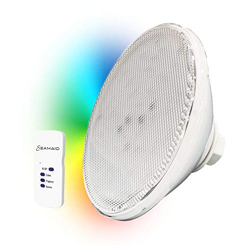 Zavattishop Seamaid 502679 Pool Lampe Ecoproof PAR 56 90 led RGB mit Funkfernbedienung, 16W