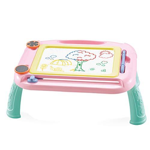 TwoCC-Giocattoli per bambini,Divertimento per bambini Tavolo da disegno a colori Tavolo Pittura per graffiti Bambino colorato colorato Lavagna magneti