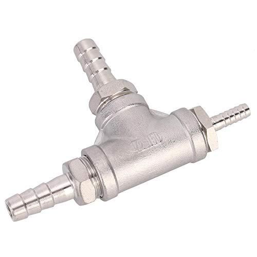 Cerveza doméstica Piedra de difusión de acero inoxidable Kit de aireación de oxigenación en línea Difusor de oxigenación para enfriador de mosto Bomba de...