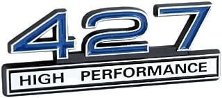 427 7.0L Engine High Performance Emblem with Chrome & Blue
