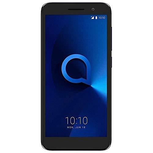 Alcatel 1 (16GB) 5.0' Full View Display, Removable Battery, FM Radio, Dual SIM GSM Unlocked US & Global 4G LTE International Version 5033E (Bluish Black)