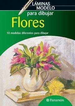 Láminas modelo para dibujar flores