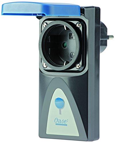 OASE 51160 InScenio Dimmer - Stufenlose Dimmer-Steckdose zur Erweiterung des InScenio Steckdosensystems für Teichgeräte und Beleuchtung im Garten- und Außenbereich