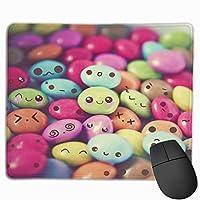 可愛い マウスパッド 光学マウス 滑り止め超極細繊維 洗える ファッション ゲーム pcマウスパッド オフィス 耐久性 25X30cm