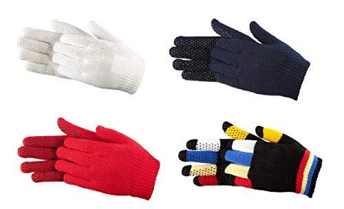 PFIFF 011278 dziecięce rękawiczki z wypustkami, rozmiar uniwersalny, białe