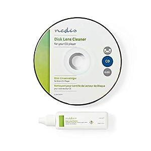 NEDIS Limpiador de Lentes de CD para Reproductores de CD, 20
