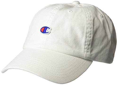 Champion Men's Father Dad Adjustable Cap, white, One Size