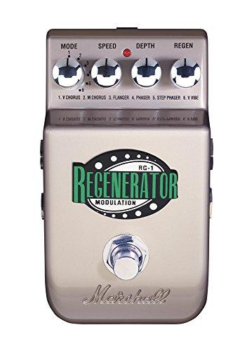 Pedal guitarra marshall regenerator modulacion