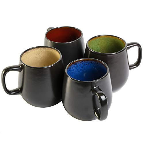 Gibson Elite Soho Cafe 21 Ounce Mug, Multicolor