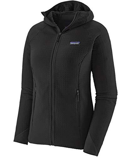 Patagonia Damen W's R2 Techface Hoody Sweatshirt, schwarz, L