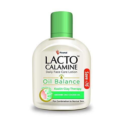 Lacto Calamine Face Lotion for Oil Balance – Combination to Normal Skin – 120 ml