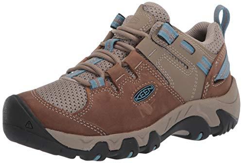 KEEN Women's Steens Vent Hiking Shoe, Brown, 7.5