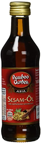 Bamboo Garden Sesam-Oel aus geroesteter Sesamsaat (1 x 100 ml)