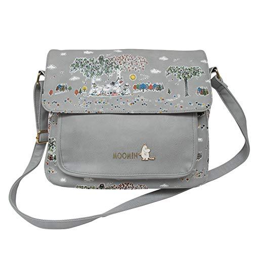 Disaster Moomin,Mumins Designer Handtasche, Schultertasche Meadow, außergewöhnliches Design