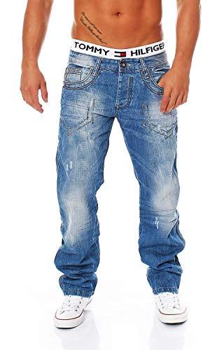 Cipo & Baxx C-0600 Regular Fit Herren Jeans, Hosengröße:W34/L32