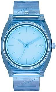 ساعة نيكسون A119-3143 تايم تيلر بي للنساء زرقاء 40 مم ستانلس ستيل