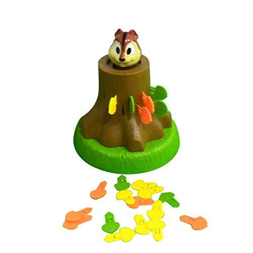 huaqiang194 Bouncing Squirrel Pirate Game, Süßes Eichhörnchen Tricky Brettspiel, Puzzle Desktop Eltern-Kind Interaktives Piraten-Spiel