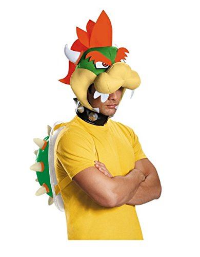 MyPartyShirt Bowser Adult Accessory Kit