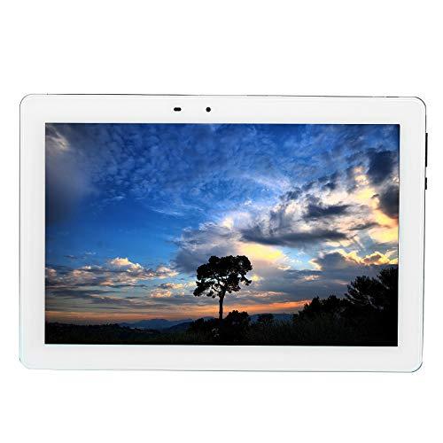 Gaoominy Tableta de 10.1 Pulgadas 8GB + 128GB Memoria 1920X1200 HD WiFi 4G Llamada Tableta Computadora MáQuina de Aprendizaje-Enchufe de la UE