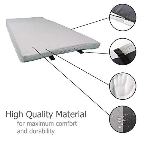 Better Habitat SleepReady Memory Foam Floor Mattress