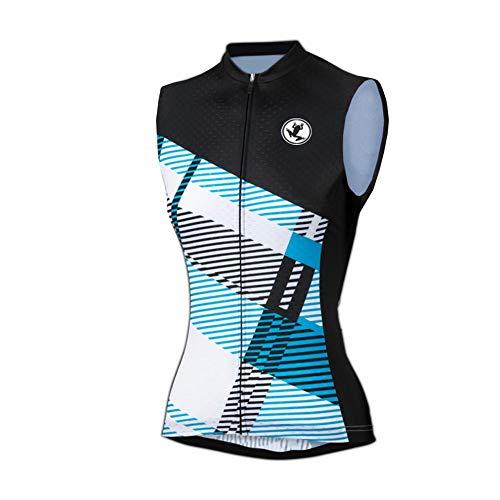 Uglyfrog Damen Weste Radweste Winddicht Jacke Tour de France ärmellos Atmungsaktiv für Fahrrad MTB MJWL01
