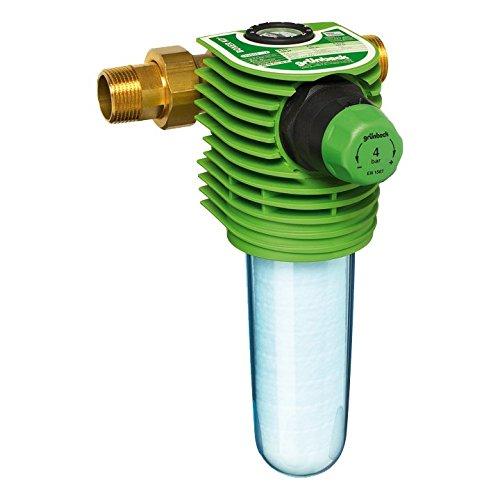 """Grünbeck Boxer KD Wasserfilter 3/4"""", Feinfilter für Trinkwasseranlagen, inkl. Wasserzähler, mit Druckminderer, 101 255"""