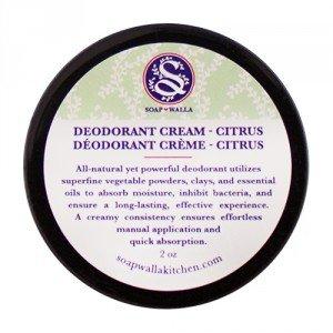 soapwalla Deodorant Creme Citrus–57g