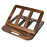 HITTITE Wooden Laptop Stand, Foldable Wooden Laptop Holder, Adjustable Wooden Laptop Riser Portable Computer MacBook Stand for Desk with Multiple Angles for Laptops Up to 15.6 inches ,Beech.