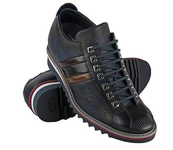 Zerimar Zapatos con Alzas Hombre | Zapatos Deportivos con Alzas Que Aumenta su Altura + 7 cm | Zapatillas Hombre de Vestir | Fabricados en España