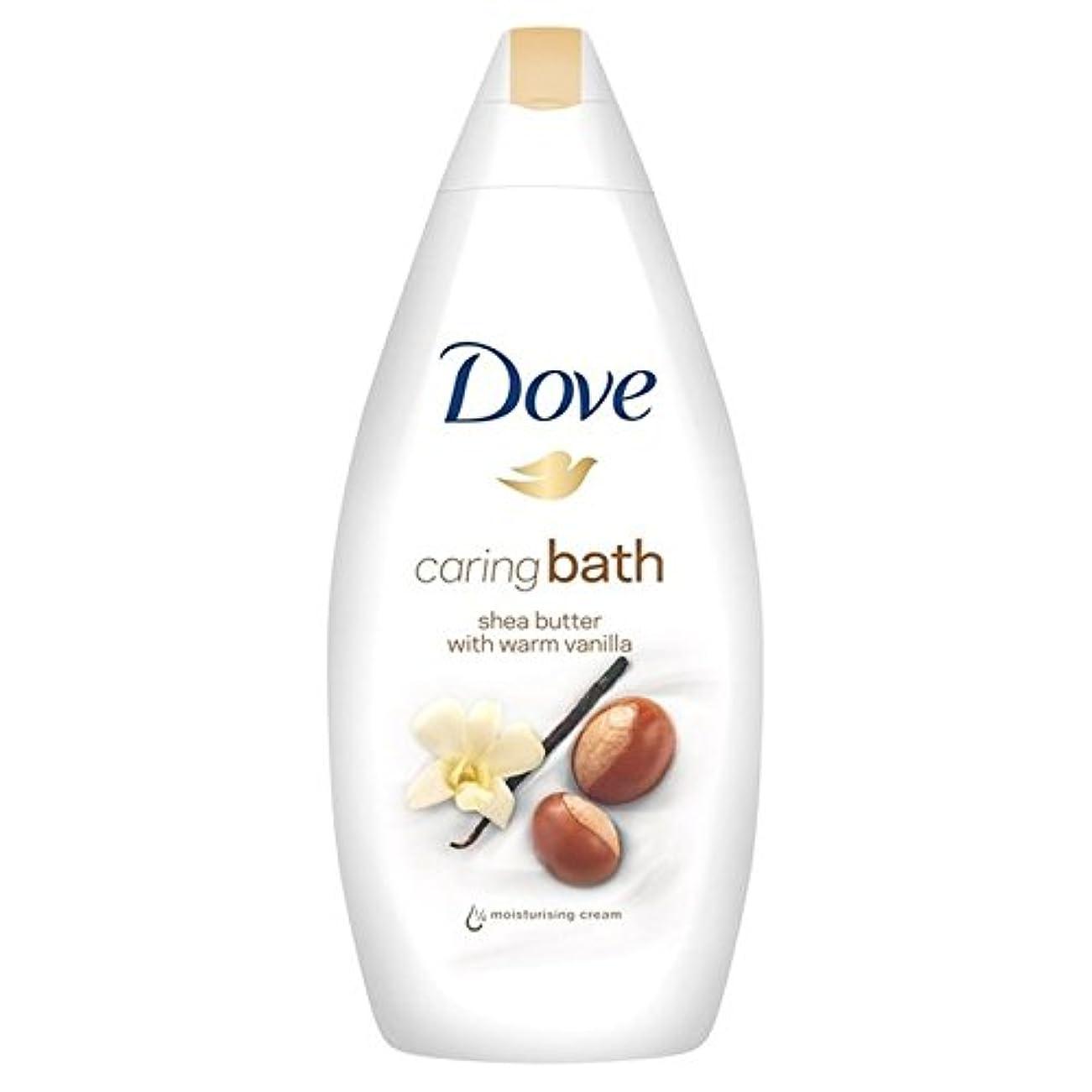 国民財産シートDove Purely Pampering Shea Butter Caring Cream Bath 500ml - 鳩純粋な贅沢シアバター思いやりのあるクリームバス500ミリリットル [並行輸入品]