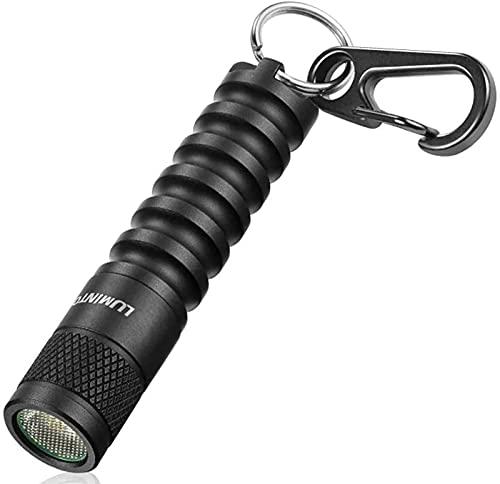 LUMINTOP Mini linterna LED EDC01, tamaño de bolsillo, 120 lúmenes, 3 modos, IPX8, resistente al agua, compacta, ligera