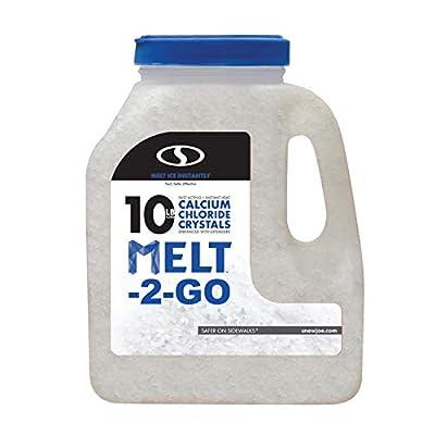 Snow Joe AZ-10-CC-JUG 2 GO Ice Melt Removal, 10 lb Jug