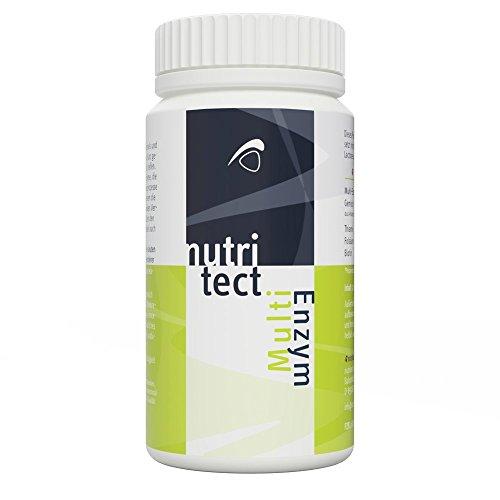 nutritect MultiEnzym - Aktivierung deines Stoffwechsels und deiner Selbstheilungskräfte   320 Tabletten   Hergestellt in Bayern