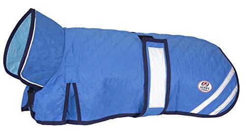 Derby Originals Hydro Cooling Swamp Jacke für Hunde reflektiert Wärme und UV kühlt für 10+ Stunden