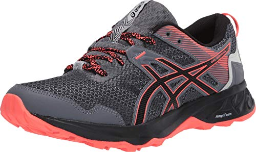 ASICS Women's Gel-Sonoma 5 Trail Running Shoes, 8M, Metropolis/Black