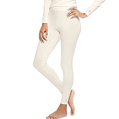 Champion Duofold Women's Varitherm Base-Layer Thermal Pants_Pearl_M by