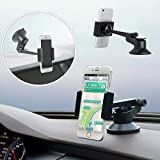 RONSHIN Car Phone Mount,LP-10 Universal Car Holder Car Windshield Mount Phone Holder