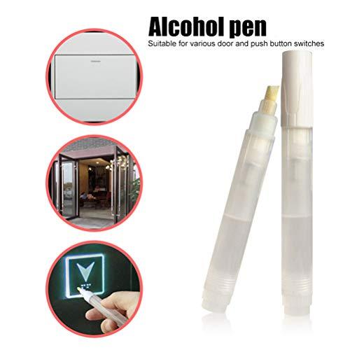 Mlamat Aufzugsstift Desinfektionsstift mit offener Tür Drücken Sie die Aufzugstaste Artefakt-Desinfektionsreinigungswerkzeuge
