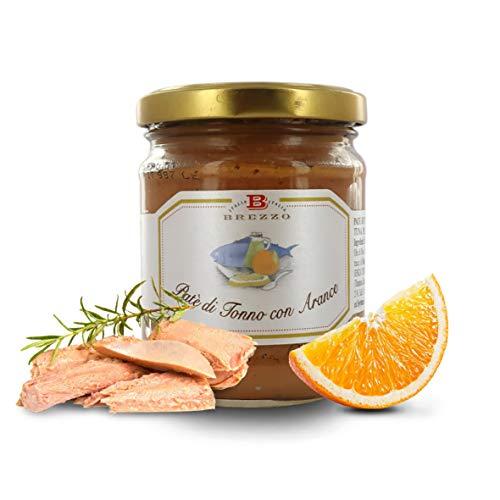 Brezzo Paté de Atún a la Naranja | 180 Gramos