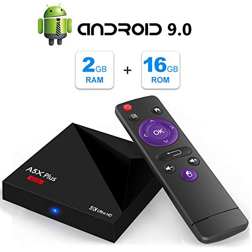 For Sale! Android TV Box, A5X Plus Mini Android 9.0 2GB RAM/16GB ROM RK3328 Quad-Core 64bit Cortex-A...