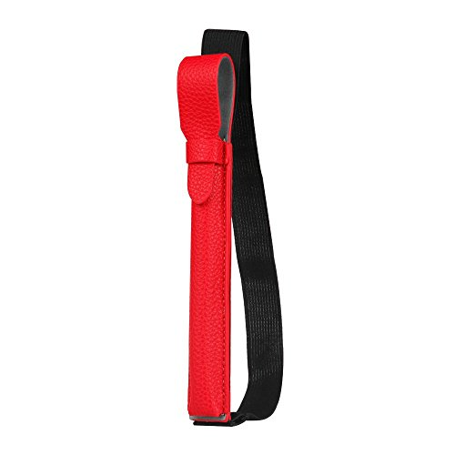 """Fintie S Pen Holder for Samsung S Pen (PT860), Premium Vegan Leather Cover Sleeve Pouch Compatible with Galaxy Tab S6 10.5 / Galaxy Tab S4 10.5 / Galaxy Tab S3 9.7 / Galaxy Book 12""""Cases, Red"""