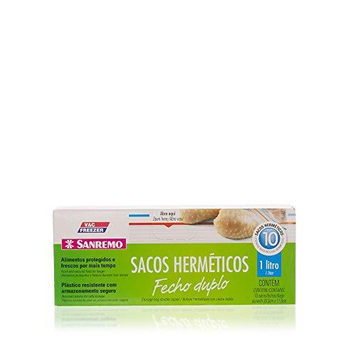 Saco Hermético Sanremo Transparente Plástico