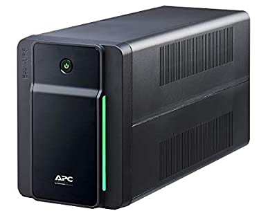 APC Easy UPS 1600VA - BVX1600LI - UPS Battery Backup & Surge Protector, Backup Battery with AVR, LED Indicators, Uninterruptible Power Supply