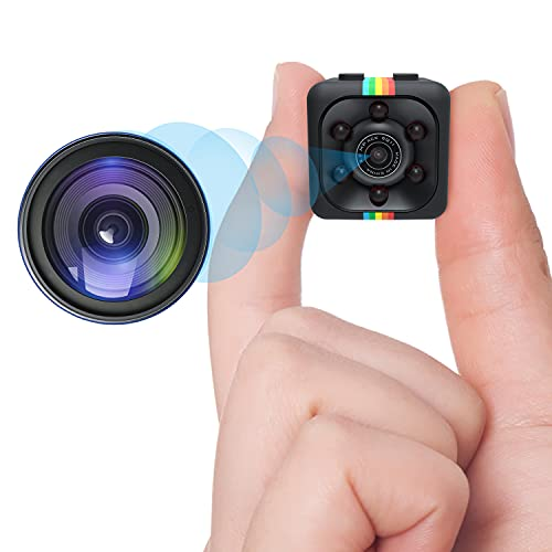 Spy Camera Wireless Mini Hidden Camera DZFtech HD 1080P Portable Small Nanny Cam with Motion Detection Surveillance Camera for Home Indoor Outdoor Security