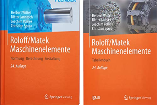 Roloff/Matek Maschinenelemente: Tabellenbuch