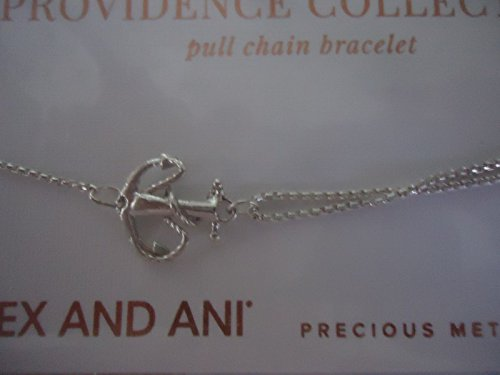 Alex and Ani Pull Chain Bracelet Anchor Sterling Silver Bracelet