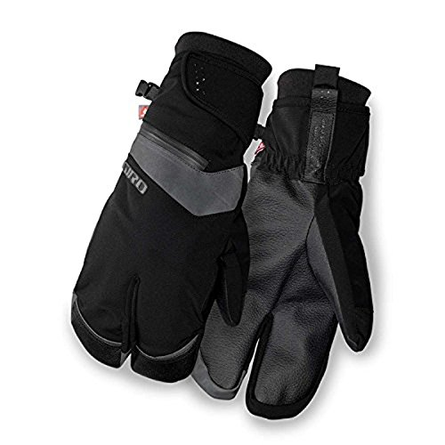 Giro 100 Proof Adult Unisex Winter Cycling Gloves - Black (2018), Small