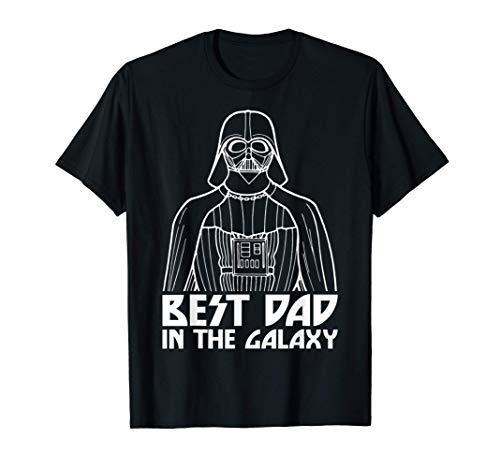 Star Wars Darth Vader Best Dad In The Galaxy Maglietta
