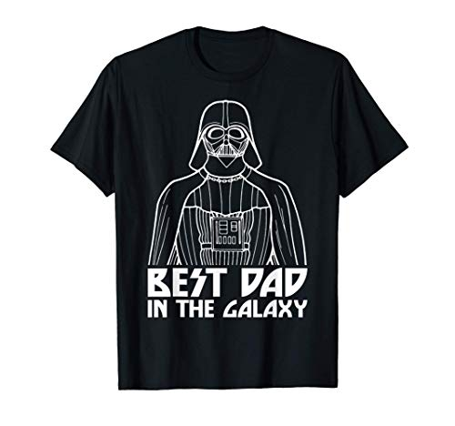 Star Wars Darth Vader Best Dad In The Galaxy Camiseta